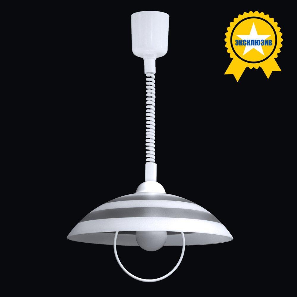 Подвесной светильник на лифт-системе Максисвет 2-5661-1-WH E27 360мм.